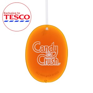 3D Gel - Candy Crush - Orange Sparkle
