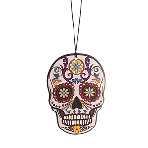 2D Card - Day of the Dead Magic Dust White Skull